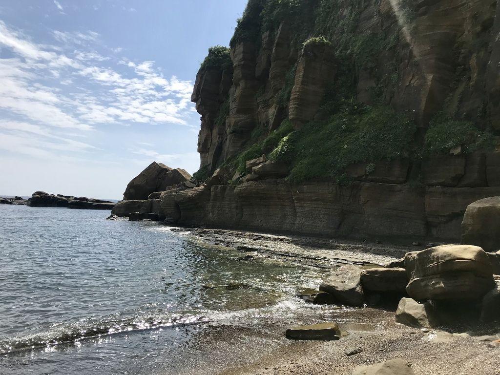 北海岸一日遊之新北瑞芳景點-象鼻岩.酋長岩是玩獨木舟的絕佳地點