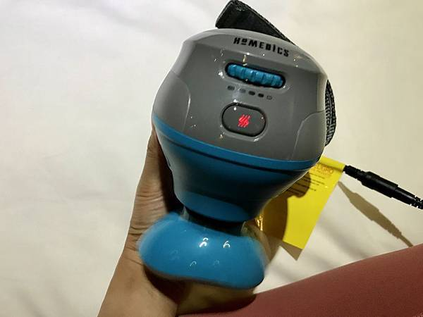 運動完的按摩神器!美國HOMEDICS震動式冷熱敷多功能按摩機