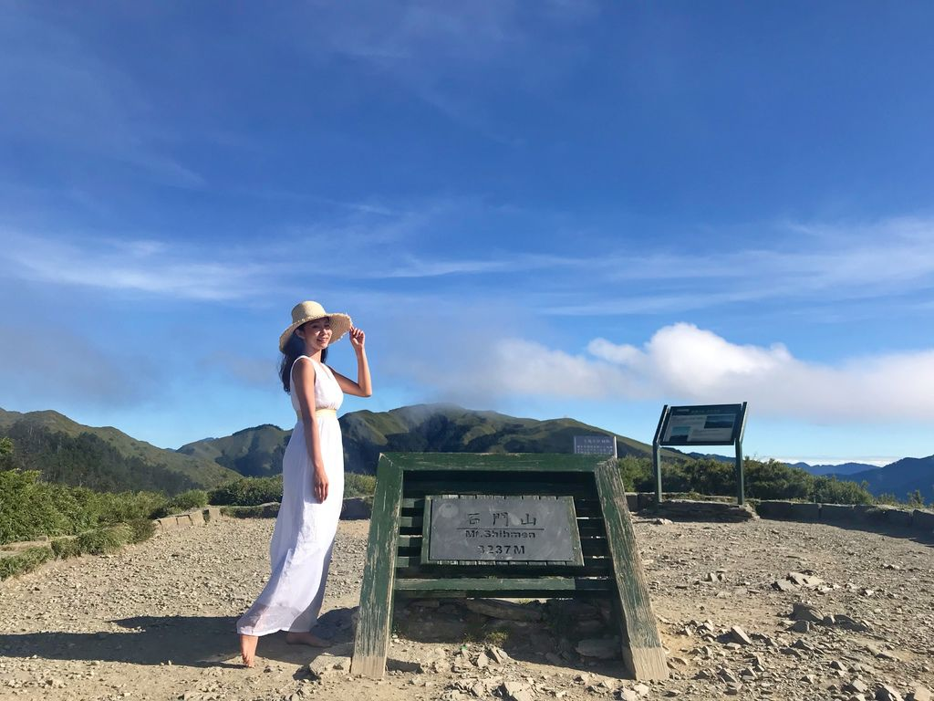 台灣百岳登山-合歡群峰中最簡單的入門百岳-石門山【丁小羽登山篇】