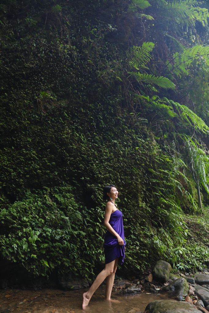 基隆景點-基隆七堵的泰安瀑布,是親民又消暑的好地點【丁小羽旅遊篇】