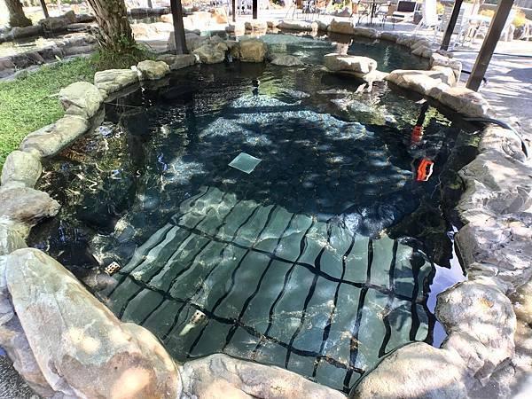 台中溫泉推薦-谷關溫泉的首選地點!谷野會館的露天溫泉