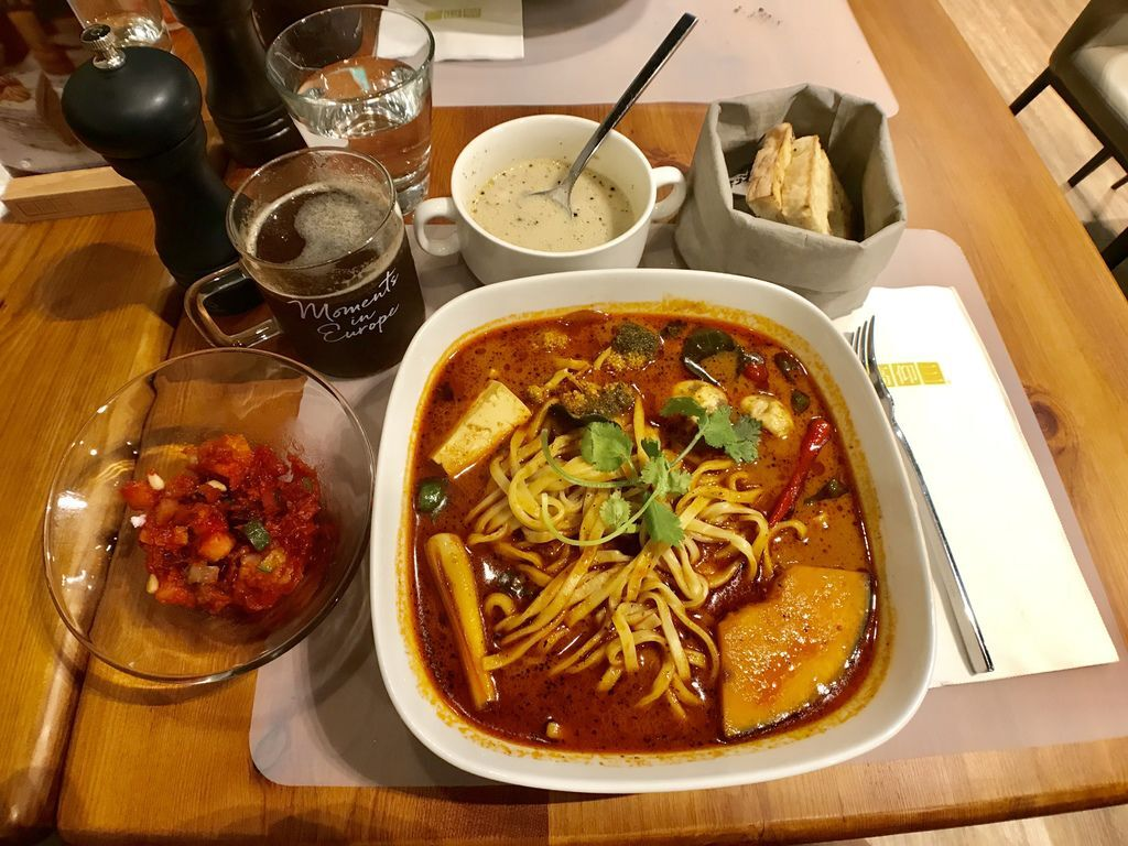 南港素食料理-CITYLINK南港店的素食餐廳-高仰三廚房