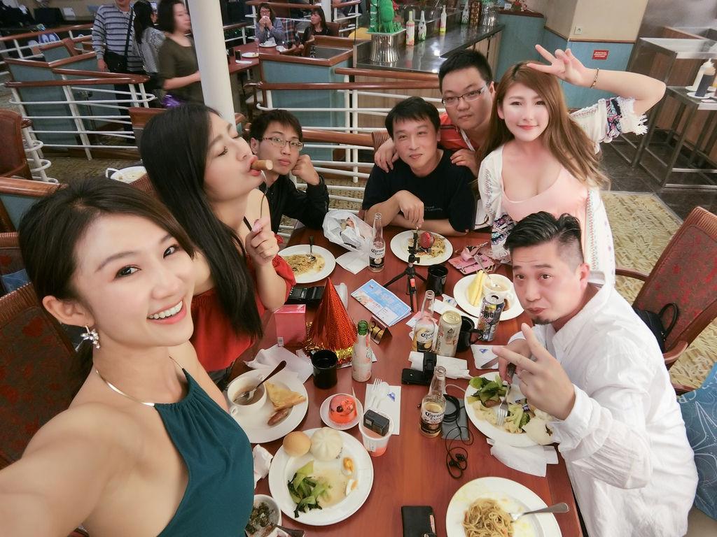 麗星郵輪寶瓶星號-宮古島,小羽帶妳看看寶瓶星號上的美食餐廳有哪些