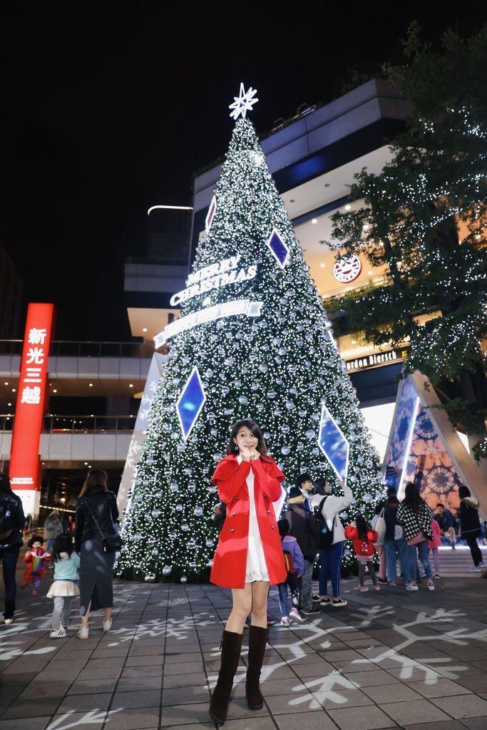 台北信義區聖誕節-新光三越的香堤大道,給你耶誕奇幻旅程