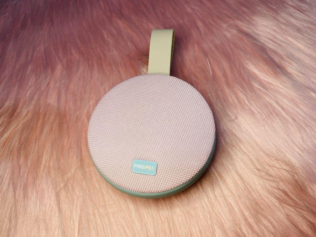 藍芽喇叭推薦-夢幻馬卡龍防潑水音響,超級萌的藍芽音響就是它