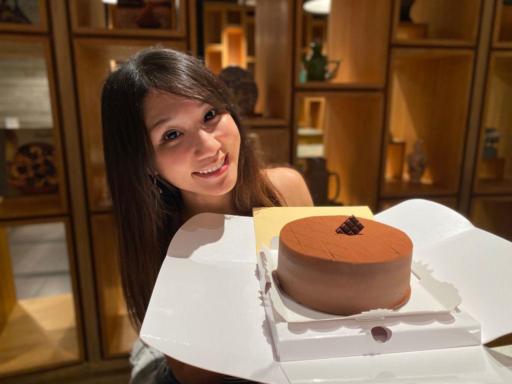 生巧克力首選~神旺大飯店-普諾麵包坊超濃郁頂級生巧克力蛋糕