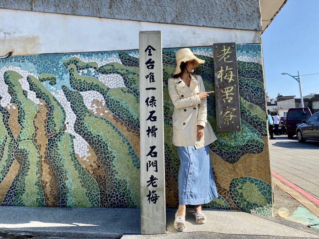 富貴角公園的老梅綠石槽,天然的綠色地毯!石門一日遊的好去處