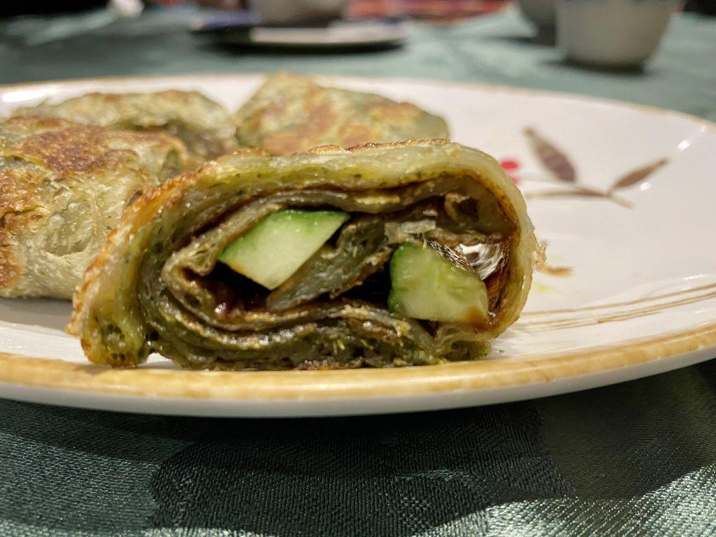 好吃不油膩的中山區素食餐廳-京園素食館北方麵食