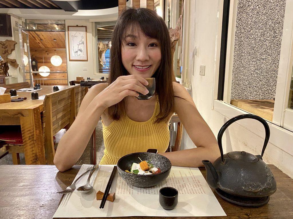 桃園龍潭的無菜單蔬食料理-入木三分,給你不一樣的蔬食體驗