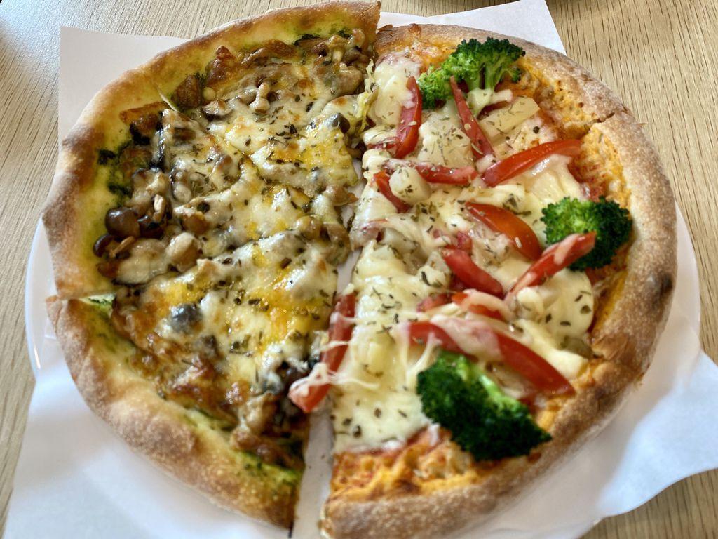 桃園龍潭素食披薩推薦-有間蔬食披薩,素食者吃披薩的首選