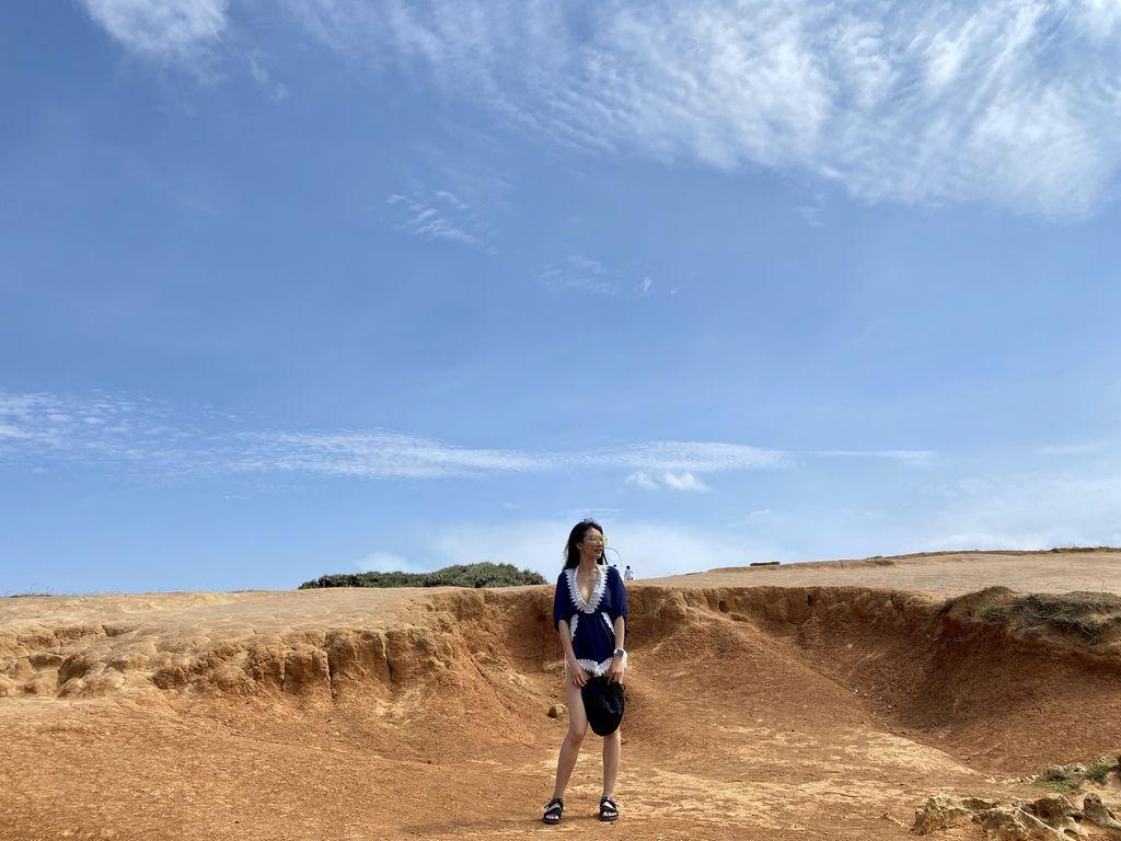 屏東墾丁景點-在龍磐公園欣賞美麗的海景、大草原以及尋找可愛小羊