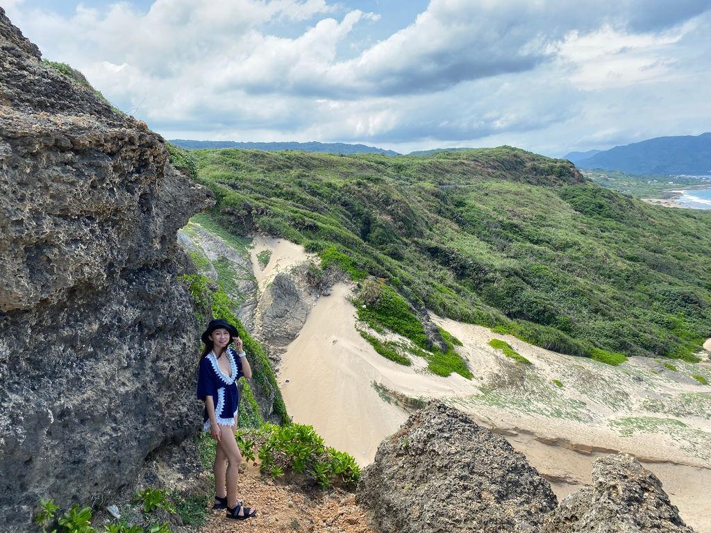 屏東墾丁景點-風吹砂-佳鵝公路上的奇景,台灣罕見的沙河、沙瀑地形