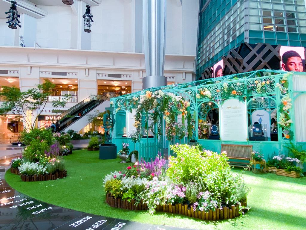 國際頂級珠寶腕錶盛會就在台北101的法式莫內花園