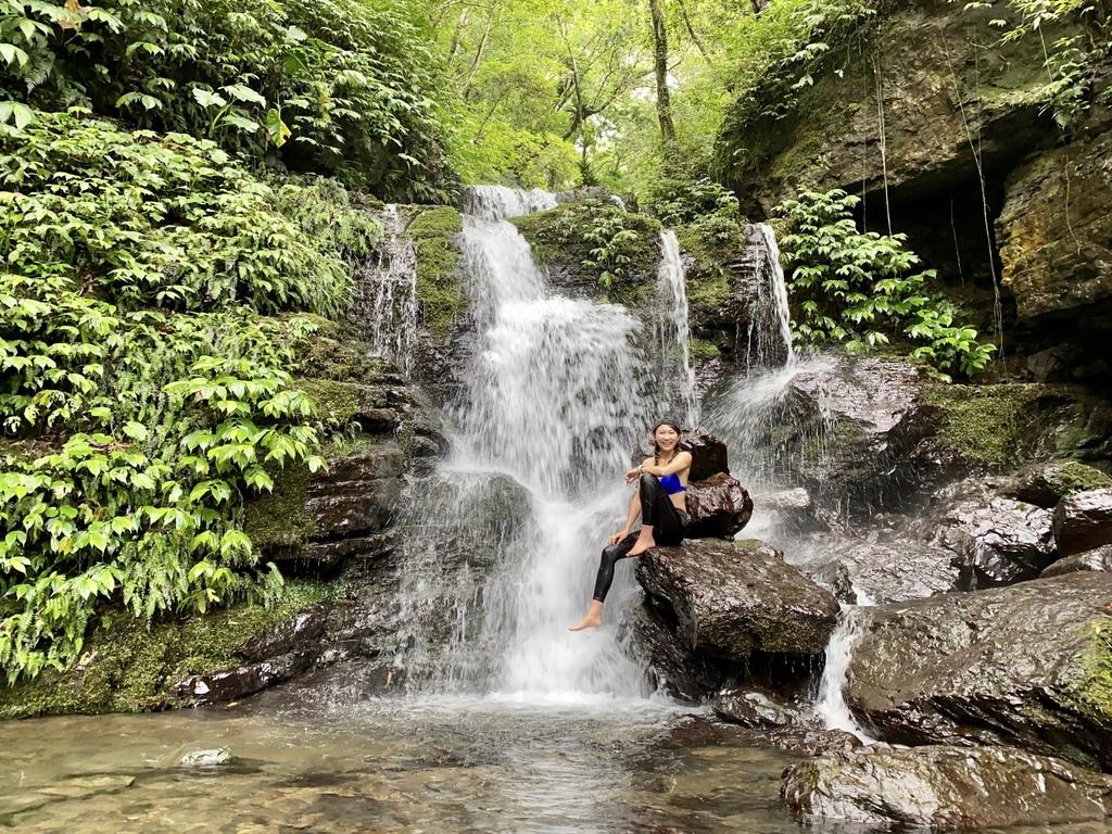 三峽瀑布景點-走訪雲森瀑布秘境-平易近人、小而美的阿花瀑布