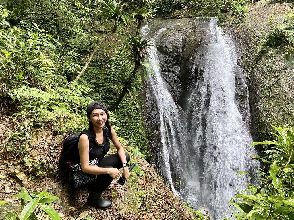 三峽瀑布景點-雲森瀑布中的森山瀑布,走在雲霧和森林之中散步