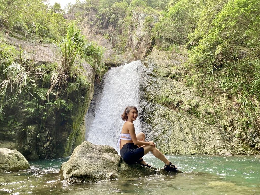 宜蘭礁溪景點-隱藏在礁溪的山林秘境-猴洞坑瀑布!清涼消暑,俯瞰蘭陽美景