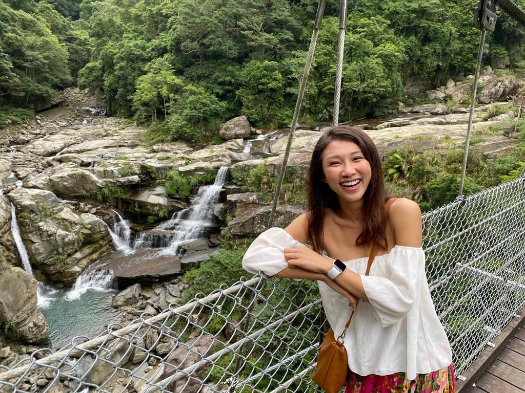 苗栗南庄的夢幻瀑布景點-神仙谷瀑布,賽德克巴萊拍攝地