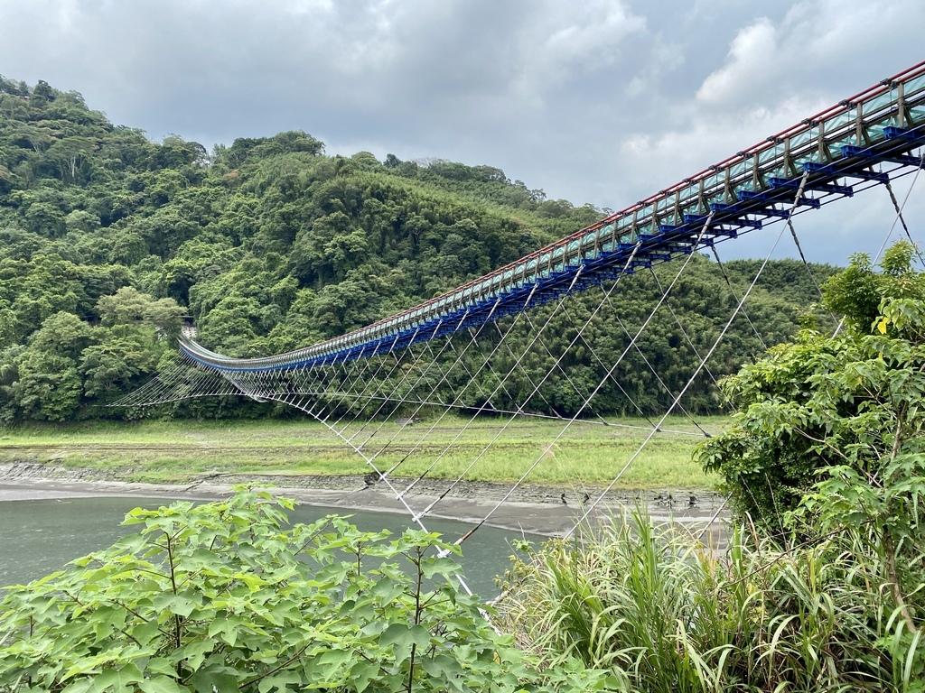 桃園復興景點-台灣最長的吊橋!北橫公路的新溪口吊橋