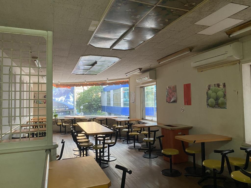 西門町老牌的飲料店-600cc木瓜牛奶