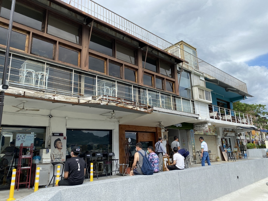 淡水老街美食-朝日夫婦,淡水河畔的日式冰店,來碗沖繩刨冰