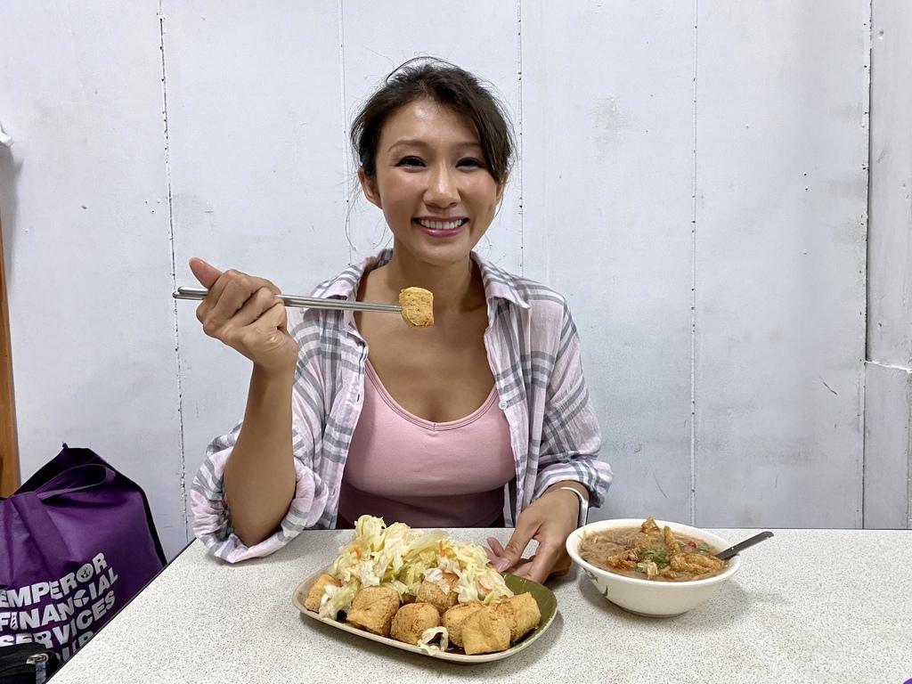 三重素食小吃-素麵線、臭豆腐、蘿蔔糕