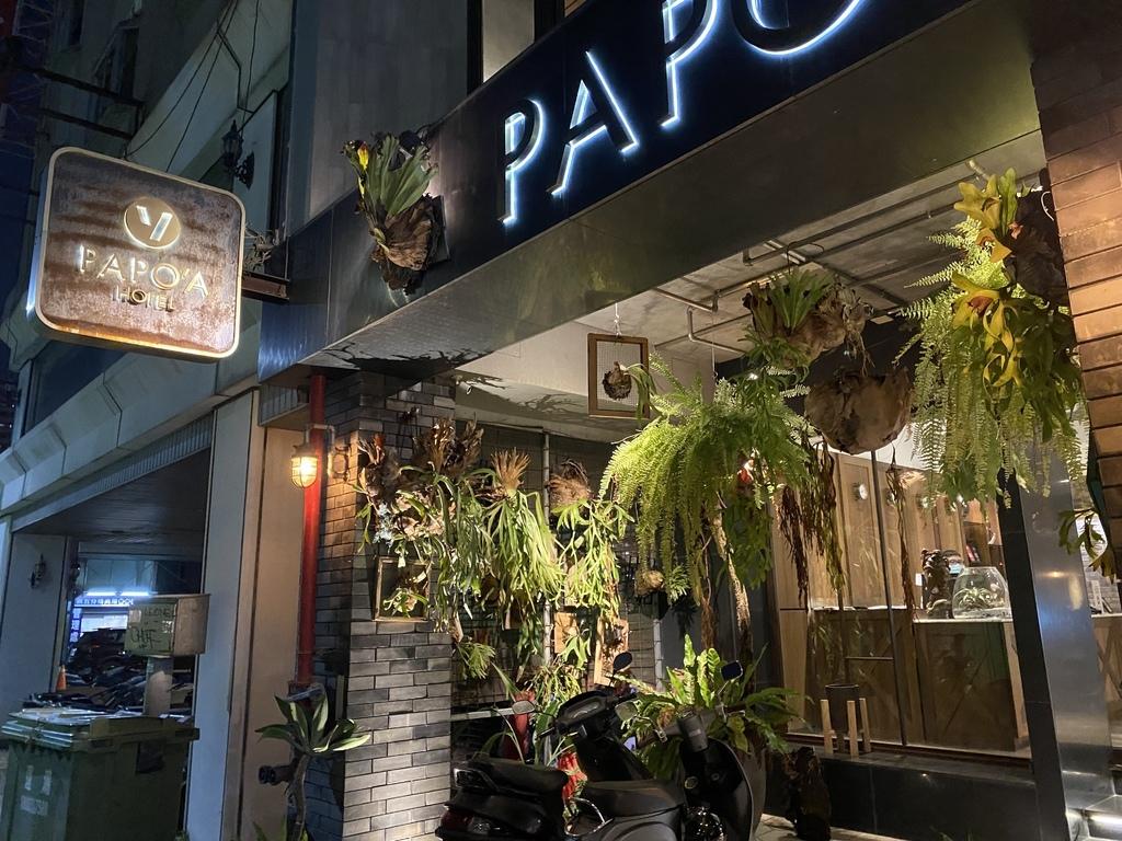 高雄三民區住宿-高雄設計旅店-帕鉑舍旅(PAPO'A HOTEL),美式工業風的平價飯店