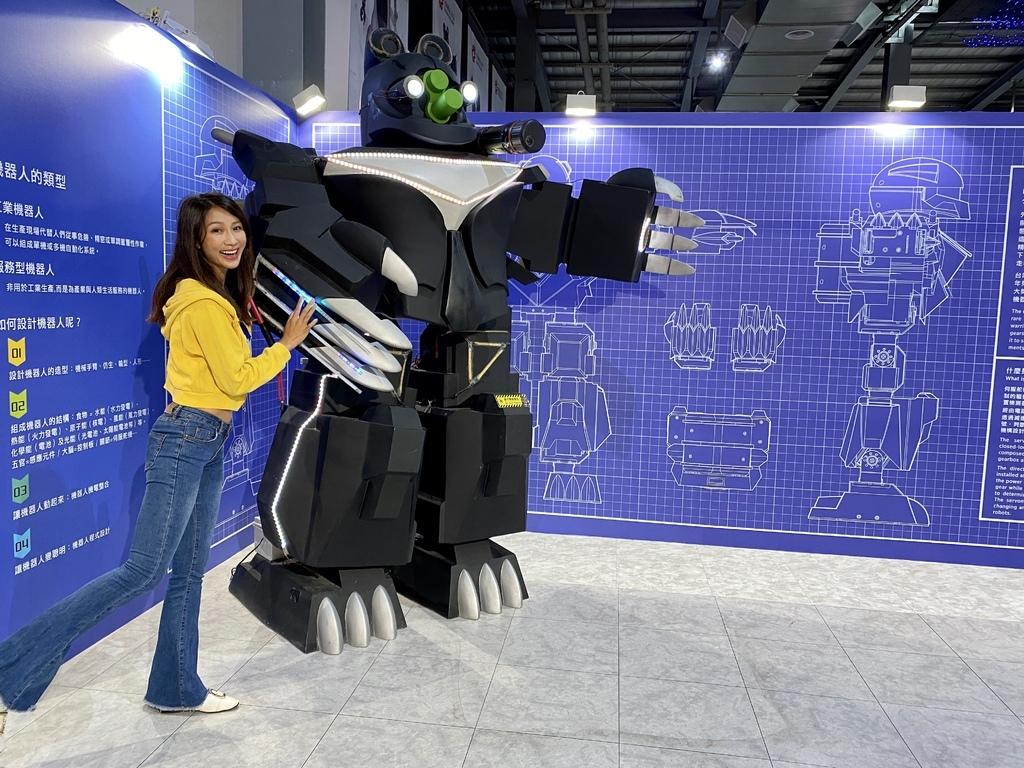 桃園室內景點-祥儀機器人夢工廠,寓教於樂的機器人觀光工廠【丁小羽旅遊篇】
