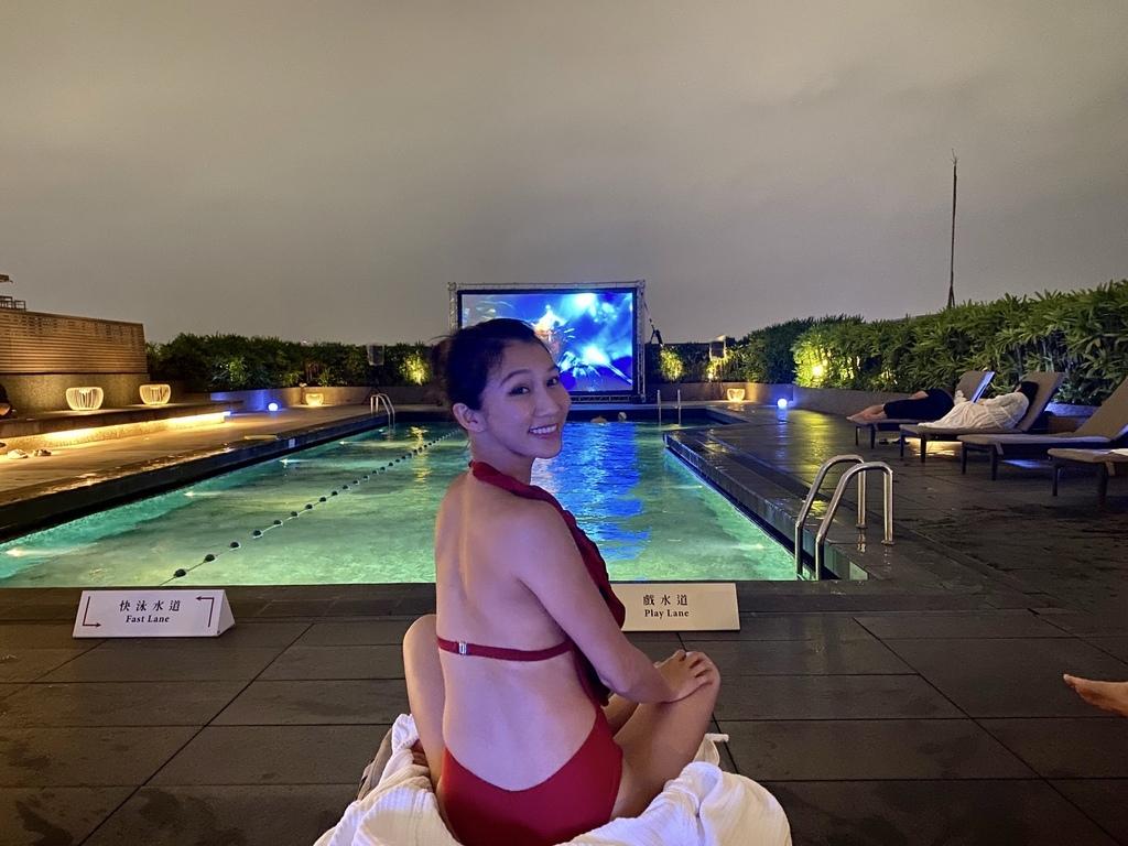 讓丁小羽帶你去看看台北晶華酒店的公共設施(健身房、沐蘭、游泳池)