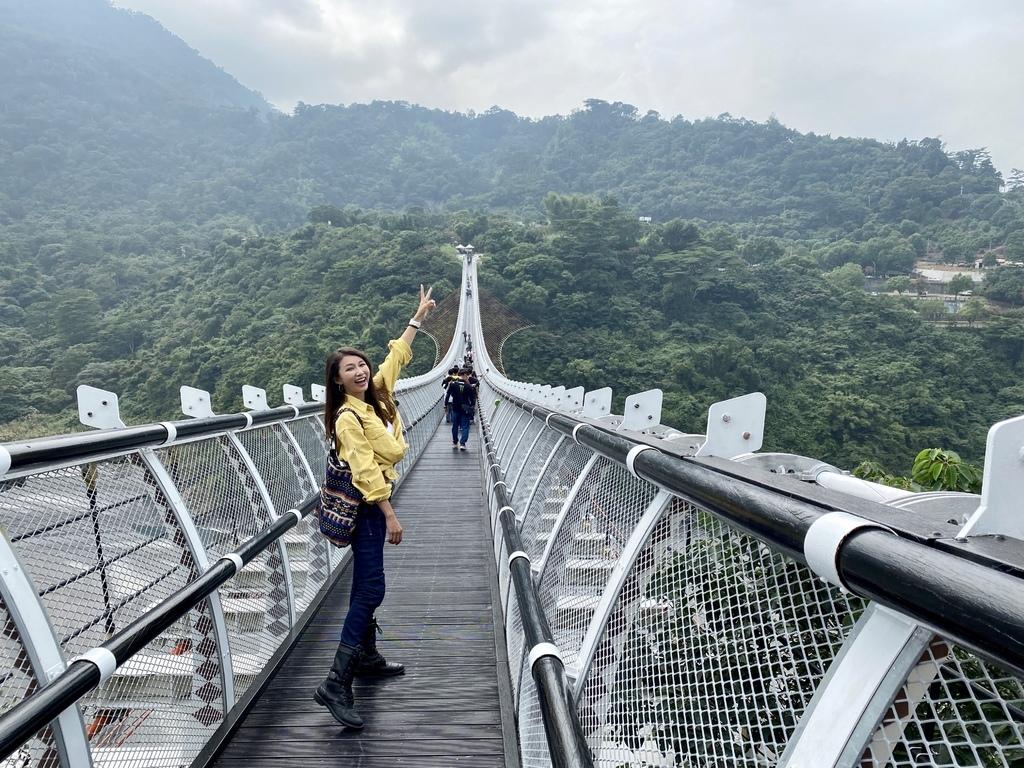屏東景點-屏東最美的吊橋-山川琉璃吊橋