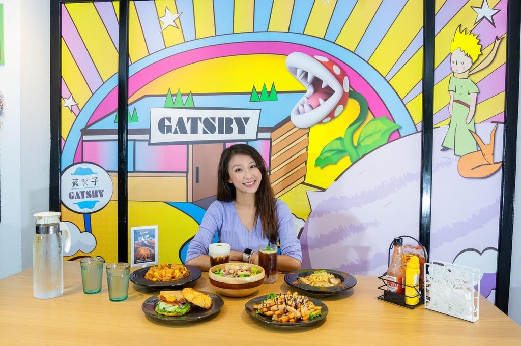 台北東區美式餐廳-在蓋子普拉斯小餐館也能吃到好吃的美式蔬食料理