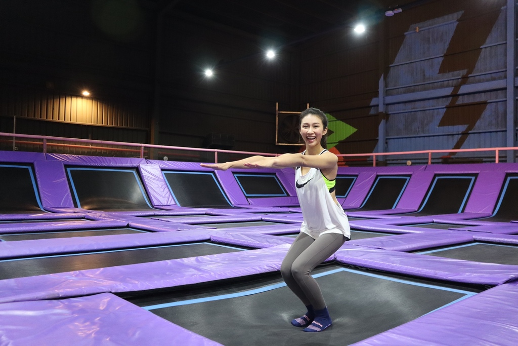 台中親子旅遊景點-來Air-Gene空氣基因玩彈跳床(跳跳床),運動玩樂一次滿足