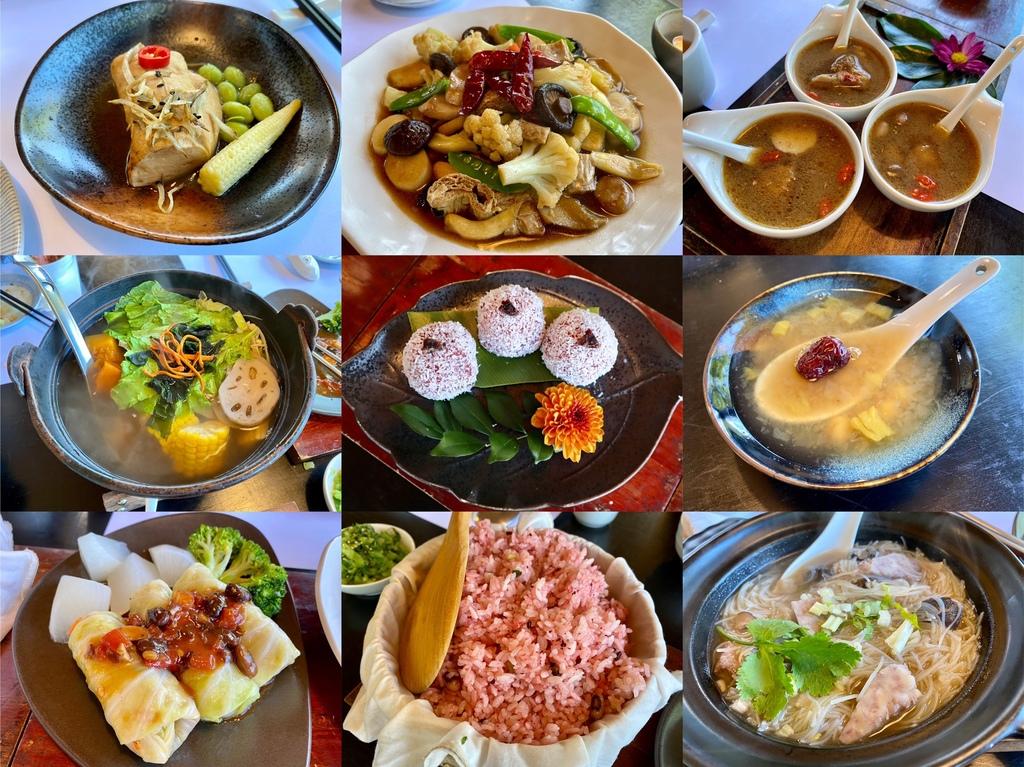 新北石碇蔬食餐廳-文山草堂,給你精緻的無菜單蔬食料理
