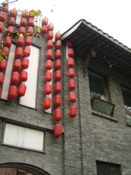 標準的四川傳統青磚屋