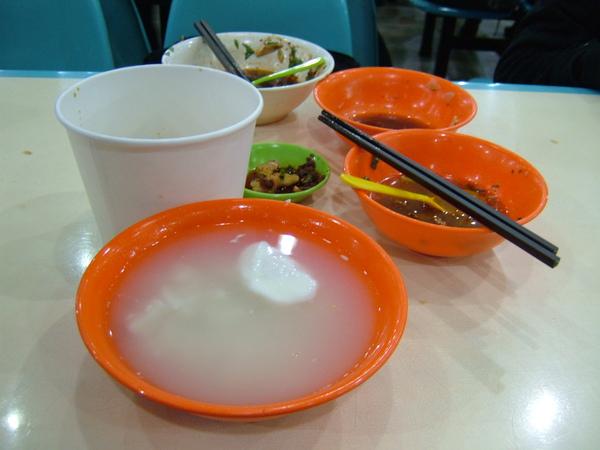 這是在程都的萬江校區晚餐的留影