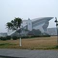 四川大學萬江校區的體育館