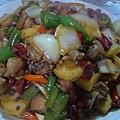 四川食記 新疆大盤雞
