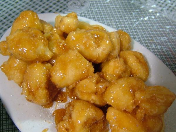 香蕉蘋果綜合拔絲