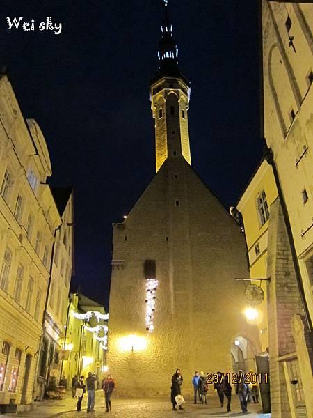 愛沙尼亞-舊城夜晚1.jpg