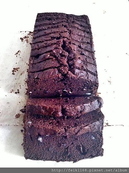 巧克力甘納許紅豆蛋糕