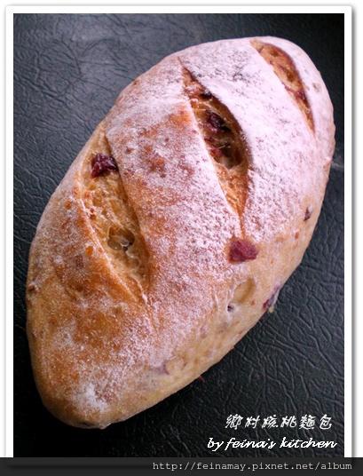 核桃鄉村麵包1
