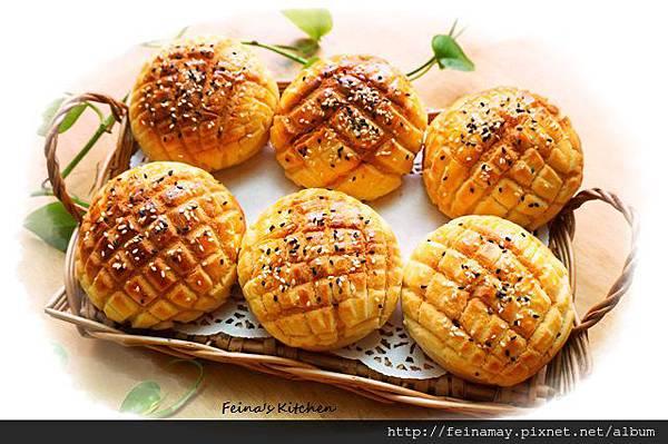 芝菠蘿麵包