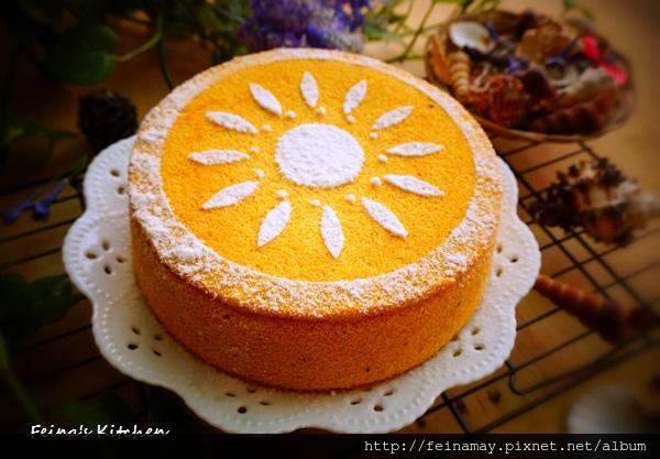 南瓜紅黎蛋糕-情人
