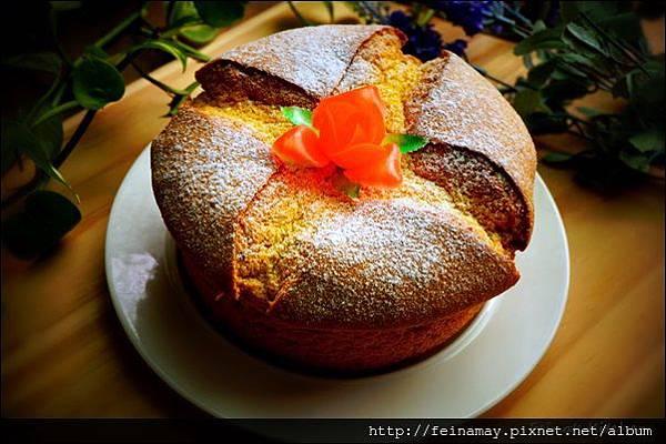 紅藜南瓜戚風蛋糕