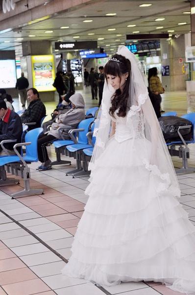 第二天台北車站大廳