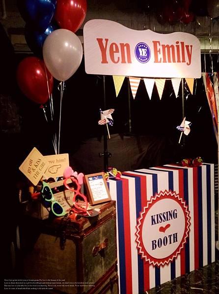 Yen & Emily Wedding - 09 台北意舍美式婚禮