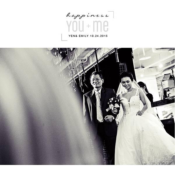 Yen & Emily Wedding - 台北意舍美式婚禮097.jpg