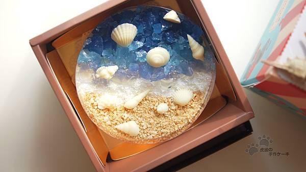 免烤箱-海洋戀夏乳酪蛋糕 @ 虎拔の窩 :: 痞客邦 PIXNET ...
