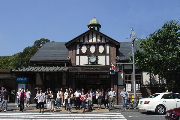 山手線的原宿車站