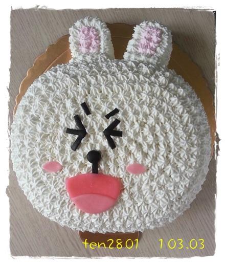 LINE 兔兔蛋糕