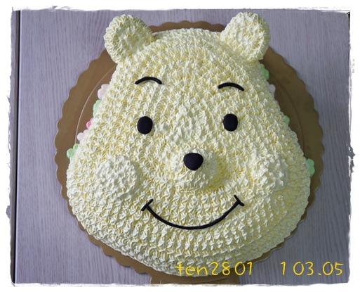 維尼大頭蛋糕